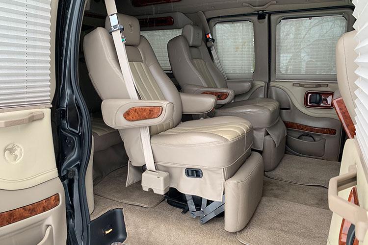 Микроавтобус Шевроле